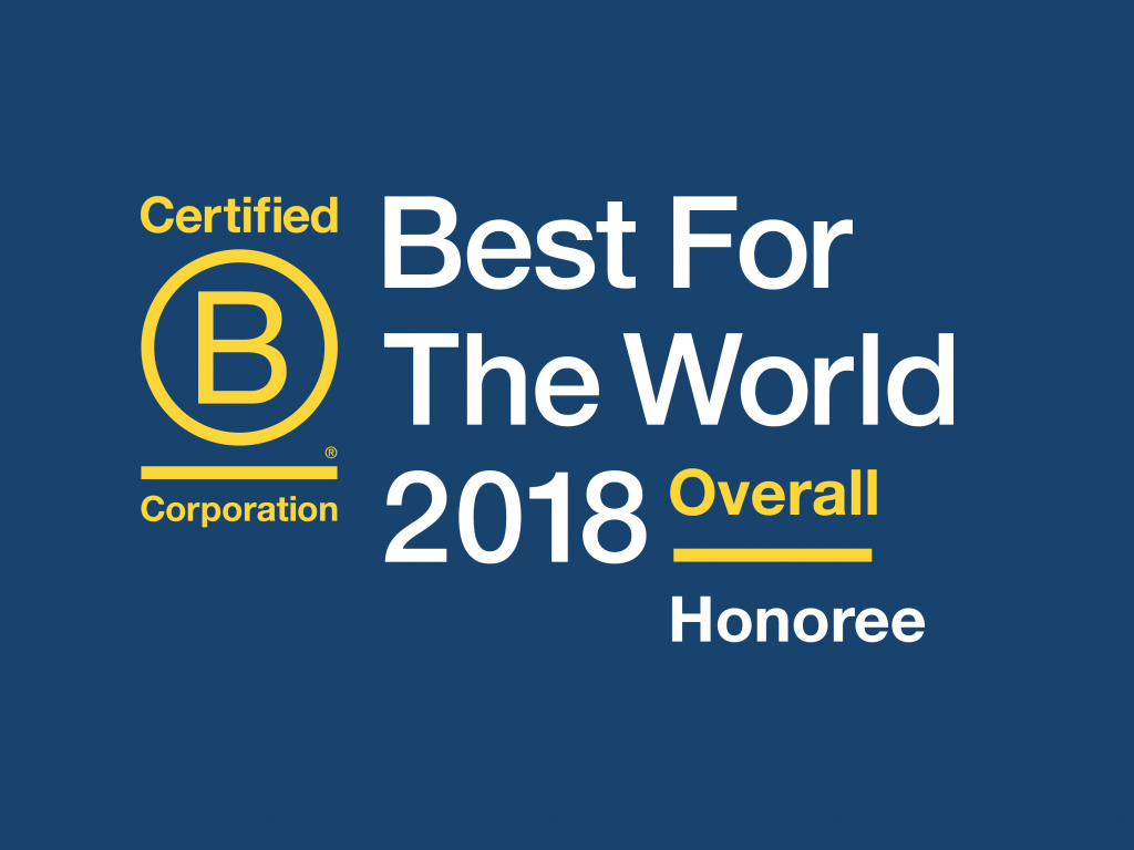 Best for the world overall honoree logo