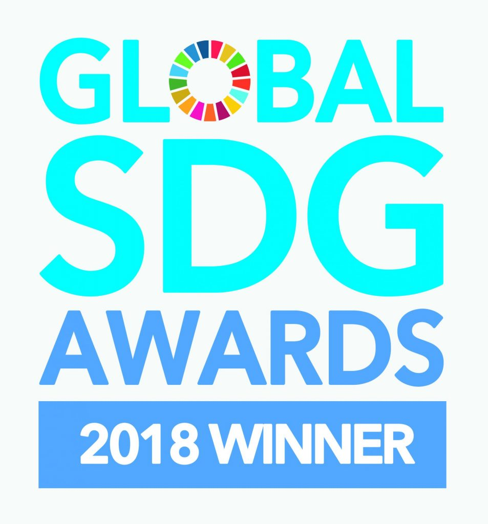 SDG Award badge