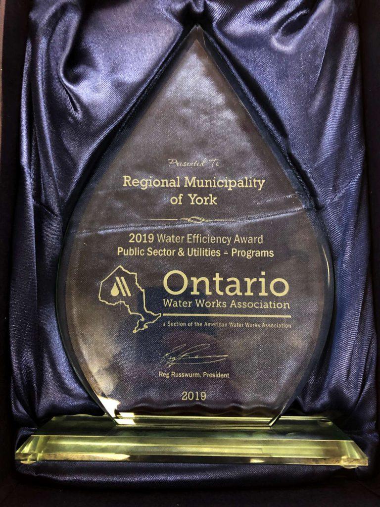 Photo of OWWA Award